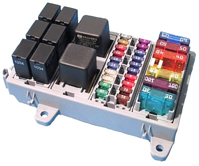 MOD Fuse display white 400 modular fuse and relay system polevolt ltd