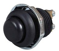 12v 20A Screen wash Horn 12 volt 20 A AMP Chrome Momentary Push Button Switch
